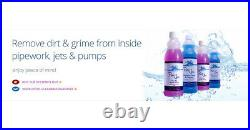 Pure Spa Professional Whirlpool Jacuzzi Spa Bath Cleaner And Degreaser 1 Litre