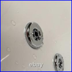 Quantum Duo 1900 x 900mm 8 Jet Whirlpool / Jacuzzi Bath Double Ended