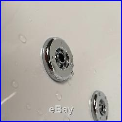 Quantum Single Ended 1800 x 725mm 24 Jet Whirlpool / Jacuzzi Bath