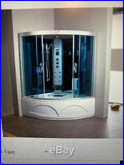 Relaxon Steam Shower Whirlpool Jacuzzi, 1350 X 1350 Corner Unit