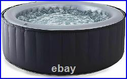 Silver Cloud pool Inflatable Jacuzzi Hot Tub Spa Whirlpool 4 Person Remote Jets