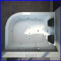 Sorrento Whirlpool 2 Persons Bath Spa Tub Jacuzzi Jets Massage Right Facing