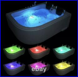 Sorrento Whirlpool 2 Persons Bath Spa Tub Jacuzzi Massage Right Or Left Facing