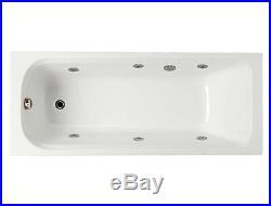 Spa / Whirlpool / jacuzzi Bath DIY 6 Jet kit In Chrome