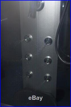 Steam Shower Room. Whirlpool tub, Aromatherapy Ozone, Jacuzzi, Bluetooth, USWarranty