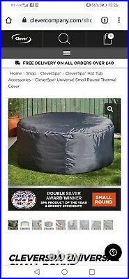 THERMAL COVER plus MSPA Lite Whirlpool Inflatable 4-Person Hot Tub Spa Jacuzzi