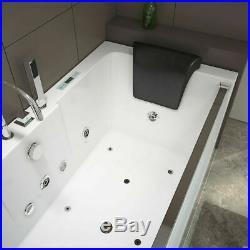 Thermostatic Massage Acrylic Whirlpool Bathtub Jacuzzi Double Ended 1700800mm