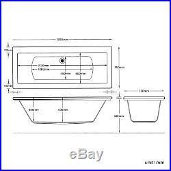 Trojan 14 Jets Whirlpool Spa Jacuzzi Massage Bath White Lucite Acrylic 1700x750