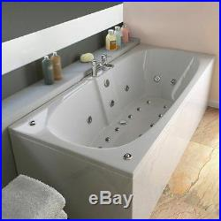 Trojan Algarve 23 Jet Double Ended Whirlpool Bath 1700x750mm White Jacuzzi Spa