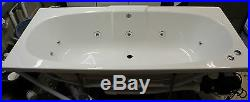 Trojan Algarve Whirlpool Bath 11 Jets Double Ended White 1700 x 750 Jacuzzi