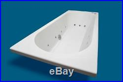 Trojan Cascade-11-Jet-1700-x-700-mm D E Whirlpool-Bath-Jacuzzi-Spa Bath