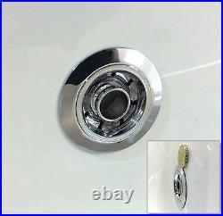 Trojan Cascade 1700 x 750mm 12 Luxury Jet Whirlpool / Jacuzzi Bath & LED Light