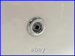Trojan Cascade 1800 x 800mm 12 Jet Whirlpool / Jacuzzi Bath & LED Light