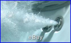 Trojan Cascade 6 8 Jet Whirlpool Bath White Acrylic 1500 x 700 mm Jacuzzi Spa
