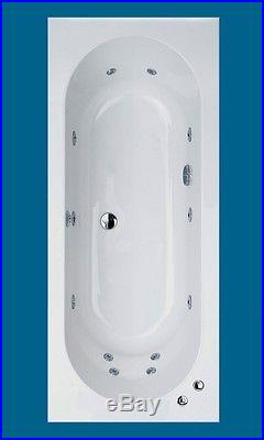 Trojan Cascade Double Ended Bath 1800 X 800 Whirlpool Jacuzzi Spa Bath