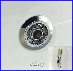 Trojan Elite Duo 1700 x 700mm 24 Luxury Jet Whirlpool / Jacuzzi Bath & LED Light