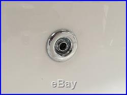 Trojan Orlando 1500 x 1020mm LH Corner 12 Jet Whirlpool / Jacuzzi Bath inc Panel