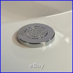 Trojan Orlando 1500 x 1020mm RH Corner 24 Lux Jet Whirlpool/Jacuzzi Bath & Light