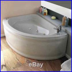 Trojan Orlando 6 Jet Whirlpool Offset Corner Bath Acrylic 1500 x 1000 Jacuzzi