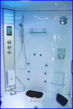 Two Person Steam Shower. Whirlpool tub withHeater Jacuzzi, Bluetooth, USA Warranty
