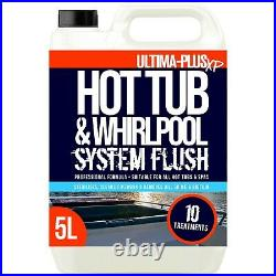 Ultima Plus Hot Tub Cleaner Whirlpool Jacuzzi Cleaning Chemical System Flush 5L