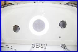 Vidalux Aegean 1700 x 900 White Steam Shower Whirlpool & AirSpa Jacuzzi Bath