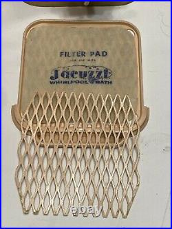 Vintage Professional Jacuzzi Whirlpool Spa Bath Model J300-B 1950's Pink