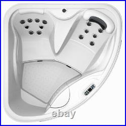 Virpol Outdoor Hot tub Thermostatic Spa Whirlpool 18 Jacuzzi Jets 2-3 Person