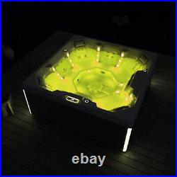 Virpol Outdoor Hot tub Thermostatic Spa Whirlpool 32 Jacuzzi Jets 7 Person