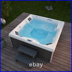 Virpol Outdoor Hot tub Thermostatic Spa Whirlpool 34 Jacuzzi Jets 5 Person