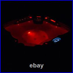 Virpol Outdoor Hot tub Thermostatic Spa Whirlpool 41Jacuzzi Jets 5 Person