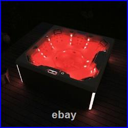 Virpol Outdoor Hot tub Thermostatic Spa Whirlpool 50 Jacuzzi Jets 7 Person