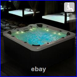 Virpol Outdoor Hot tub Thermostatic Spa Whirlpool 56 Jacuzzi Jets 6 Person