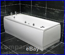 Whirlpool Bath 1700mm Luxury Spa Massage Jacuzzi Style 6 Chrome Hyflow Jets