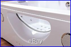 Whirlpool Bath Hydro Massage Jets Shower Jacuzzi Ozone generator 180x90cm