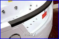 Whirlpool Bath Jacuzzi Jets Massage Double Ended Corner SPA 140x140cm