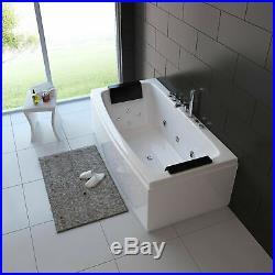 Whirlpool Bath Jacuzzi Massage Jets Double Ended Rectangle bath tub RL6141
