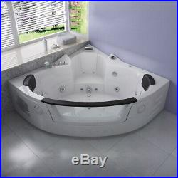Whirlpool Bath Massage Jacuzzis 22 jets Double End Corner Luxury SPA 15201520mm