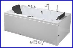Whirlpool Bath Ramona 640 Jacuzzi Jets Shower Bathtub 180x90cm water, air Pump