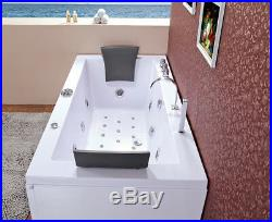 Whirlpool Bath Ramona 640 Jacuzzi Jets Shower Bathtub 180x90cm water, air Pump