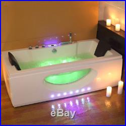 Whirlpool Bath Shower Corner Spa Jacuzzi Straight 2 person Doubl Bathtub 1700 MM