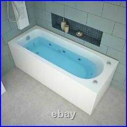 Whirlpool Bath Shower Spa Jacuzzis 13 Massage jets Bathtub With Waste 1700mm