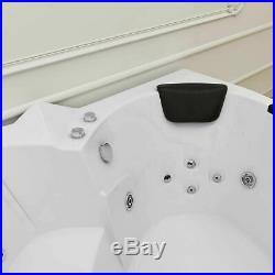 Whirlpool Bath Tub Jacuzzi 2 Person Platinum Spas Amalfi Jet 1520 x 1520 x 620mm