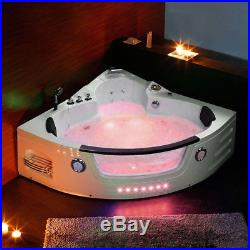 Whirlpool Bathtub Spa Acrylic Jacuzzis Massage 2 person Corner 1350MM Bath BALI