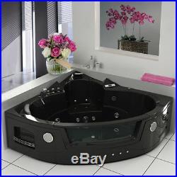Whirlpool Corne Jacuzzis 14 Massage Jet 2 person Bathtu Modern Shower Bath Spa