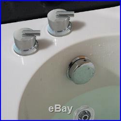 Whirlpool Corner Bath SPA Jacuzzis Massage One Person Right Hand Bathtub 1500mm