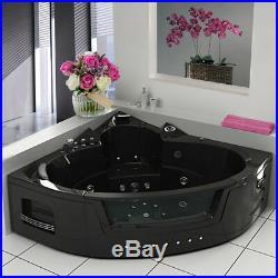 Whirlpool Shower Bath Jacuzzis Massage Jets Corner Bathtub 2 Person NO6155B
