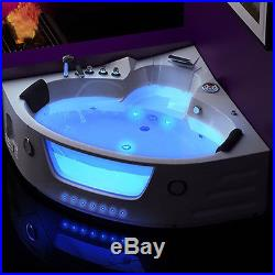 Whirlpool Shower Bath Spa Jacuzzis Massage Corner 2 person Bathtub 1350mm 6148