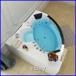 Whirlpool Shower Spa Jacuzzis Massage Corner 2 person Bathtub MODEL6155