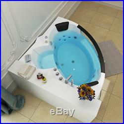 Whirlpool Spa Acrylic Bath Jacuzzis Massage Corner Double End Bath 6148 -1350mm